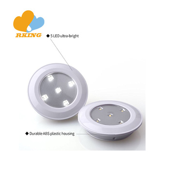 Wireless led smart Push Light With Remote Control 3PK