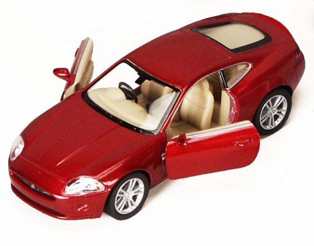 Jaguar XK Coupe, Ruby - Kinsmart 5321D - 1/38 scale Diecast Model Toy Car