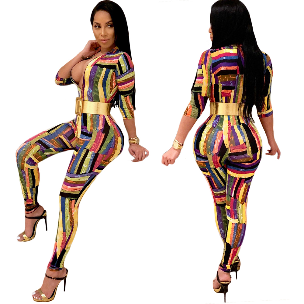 af0393eb3ee81 China Spandex Printed Jumpsuits For Women, China Spandex Printed Jumpsuits  For Women Manufacturers and Suppliers on Alibaba.com