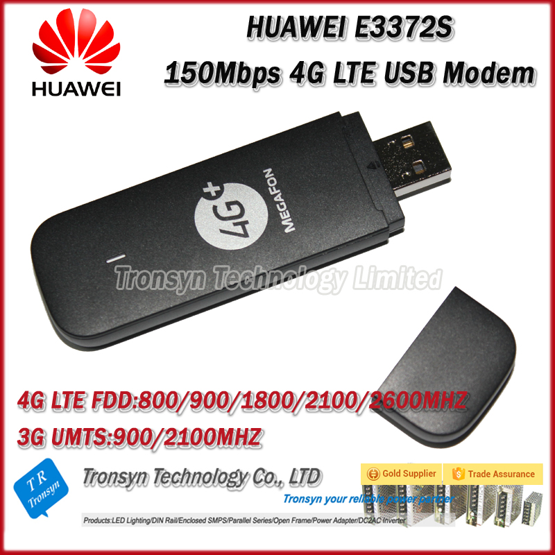 Original Unlock HiLink E3372 150Mbps 4G LTE USB Dongle And 4G Modem WiFi LTE FDD 800/900/1800/2100/2600Mhz