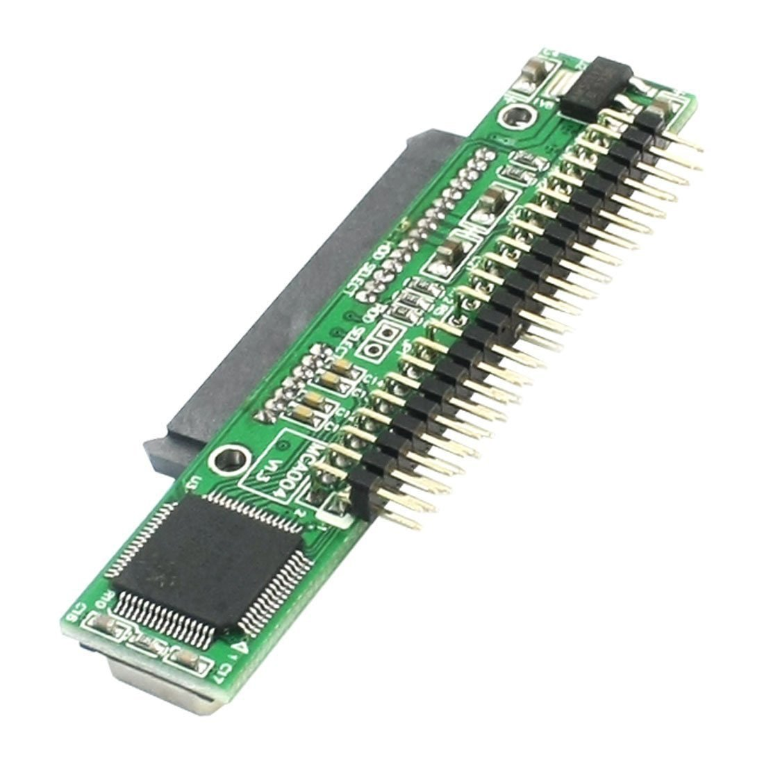 """SATA SSD to 2.5 Male IDE Adapter - TOOGOO(R) 7+15 Pin SATA SSD HDD Female to 2.5"""" 44Pin IDE Male Adapter for Laptop"""