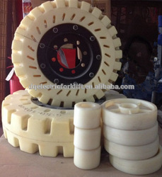 best price small rubber wheel with bearings cargo pallet truck tire