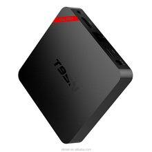 Rete android5.1 smart tv box, supporto skype chat e 4k2k H.265 hardware decodifica video e uscita 4k2k