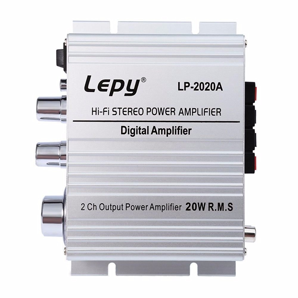 Cheap Amplifiers And Speakers Find Deals On Speakeraudio Output Power Indicator Circuit For Amplifier Get Quotations Audew 2020a Hi Fi 2 Ch Car Motorcycle Vehicle Audio Stereo