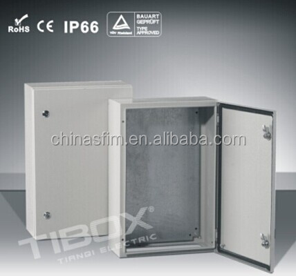 TIBOX electrical distribution control panel board IP66 Wall Mounting housings/ cabinets/panels distribution box