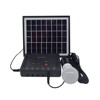 12V 4w solar lighting system solar panel kit for rural area in Africa Middle east