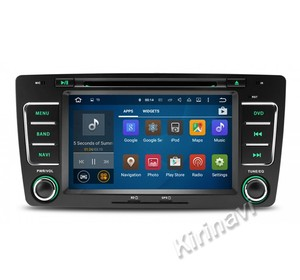 Kirinavi WC-SO7699 android 5.1 car radio dvd for skoda octavia 2012-2013 touch screen DVD Mp3/Mp4 player wifi 3g car stereo