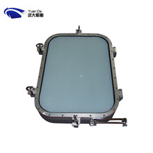 Super quality boat exterior door with opening aluminum window parts