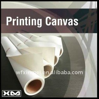 "260gsm polyester Giclee printing canvas matt ,polyester canvas rolls 44"",matte canvas , canvases"