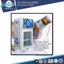 Italian Brands Digital Temperature business door 18 can of mini refrigerator