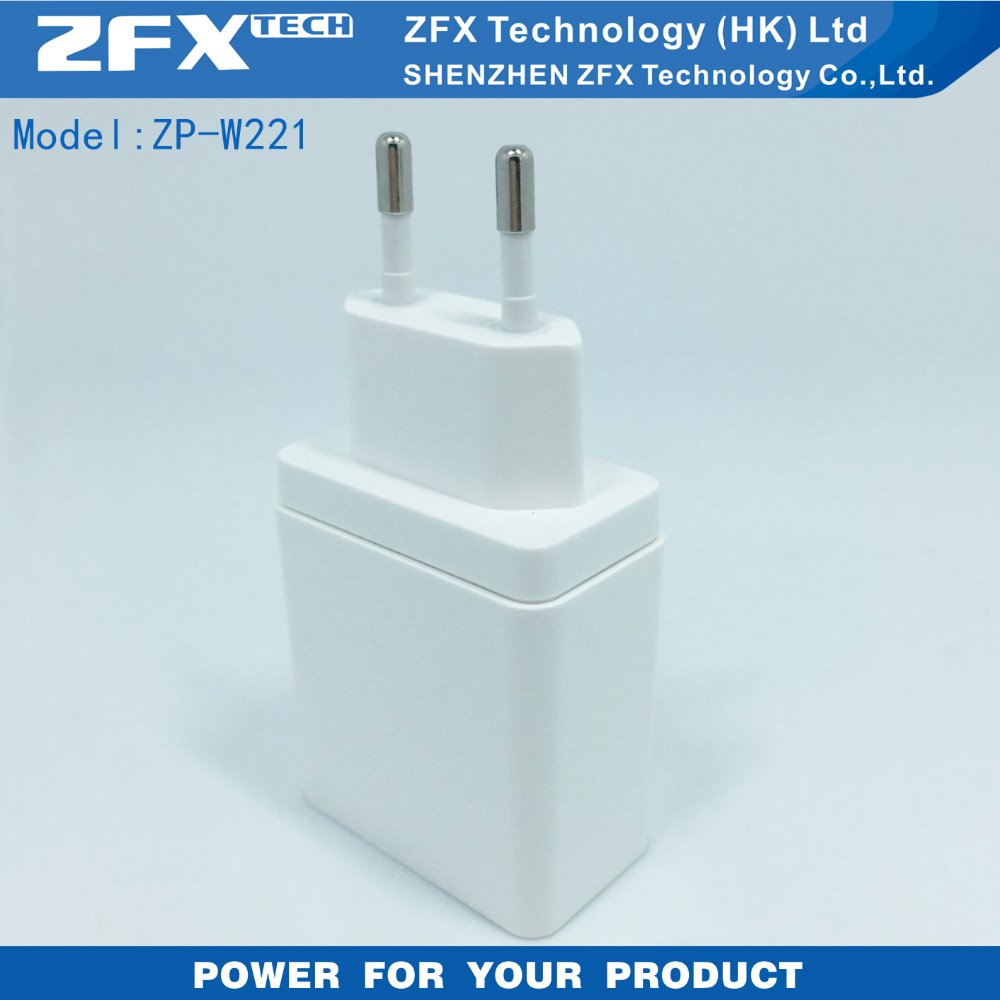 2016 Hot Selling USB Wall Charger Travel Charger 5V 2.1A 2-Ports USB Charger