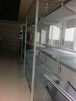 Australian Wire Gondola Shelving/Supermarket Chromed Wire Shelves/Steel Wire Gondola Shelving