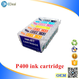 Refill ink cartridge for Epson P400 printer ink cartridge