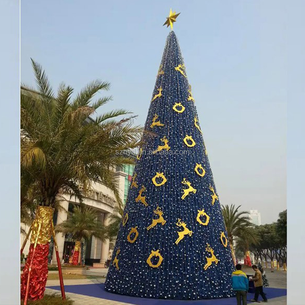 Outdoor Led Christmas Tree Lighted Cone Giant Trees