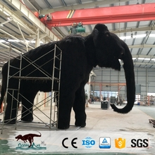 OA23556Amusement park animatronics mammoth model for sale