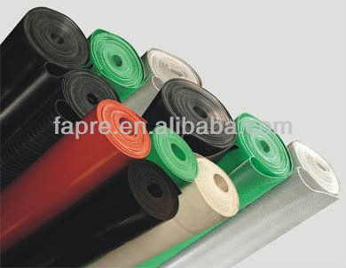 Customized Red Green Tansparent Durable Solid Silicone Rubber Sheet Rolls
