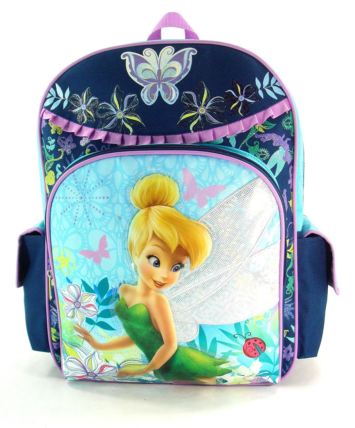 """Disney's Tinkerbell Large 16"""" Backpack - Pixie Forest"""