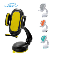 Stronger durable funny desktop flexible magnetic hand cell phone holder for desk