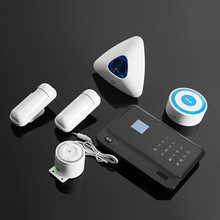 anti-theft house security products smart usage alarm home security system wireless with sms message and call remind