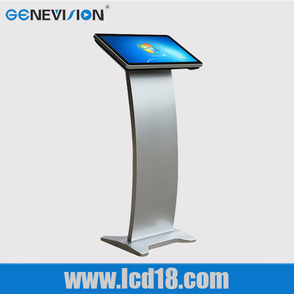 22'' inch 3G wifi touch screen kiosk digital signage advertising player all in one PC for hospital