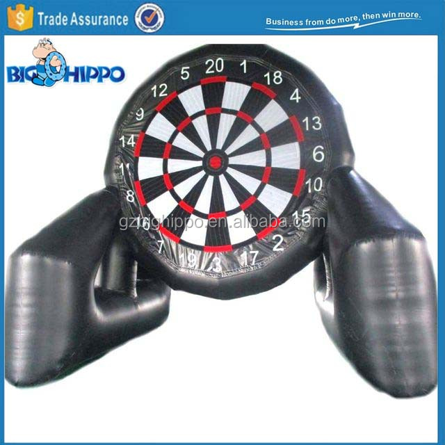 Inflatable Kick and Stick Foot Darts