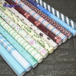 Gift wrapping paper manufacture with logo