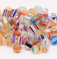 New arrival Mixed glass cane furnace beads for wholesale