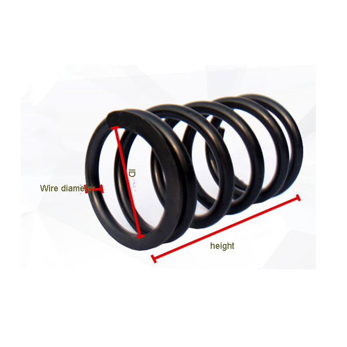 Custom vibrating screen spring wire spring thread compression spring