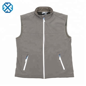 Customized Pvc And Polyester Reflective Jacket Softshell