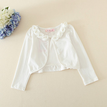 931ba1bcd Autumn Baby Sweater Design Girls Mini Coat Flower Bow Two Colour ...