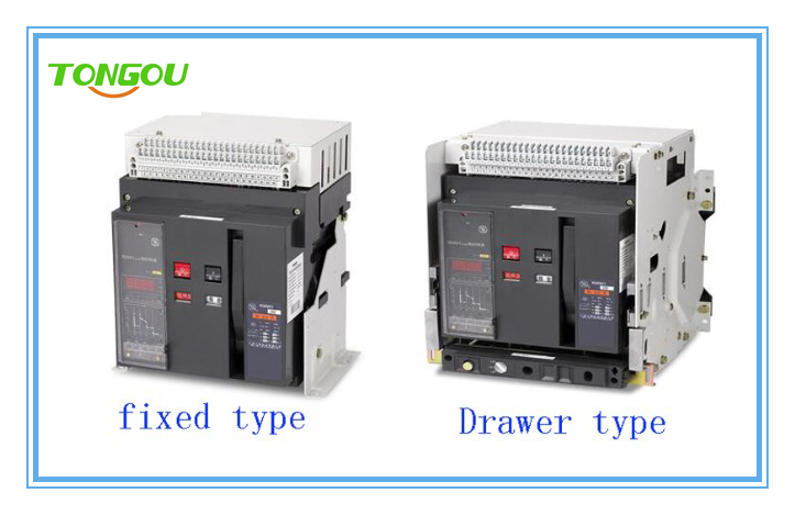 Acb Rated 630 5000a Fixed And Draw Out Types Air Circuit Breaker