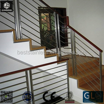 Modern Design Stainless Steel Stair Railing/Stainless Steel Handrail/ Glass  Balcony Railing