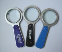 HEYU plastic Magnifying glass with led light