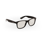 Plastic Circular Polarized 3D Glasses For Real D Cinema System