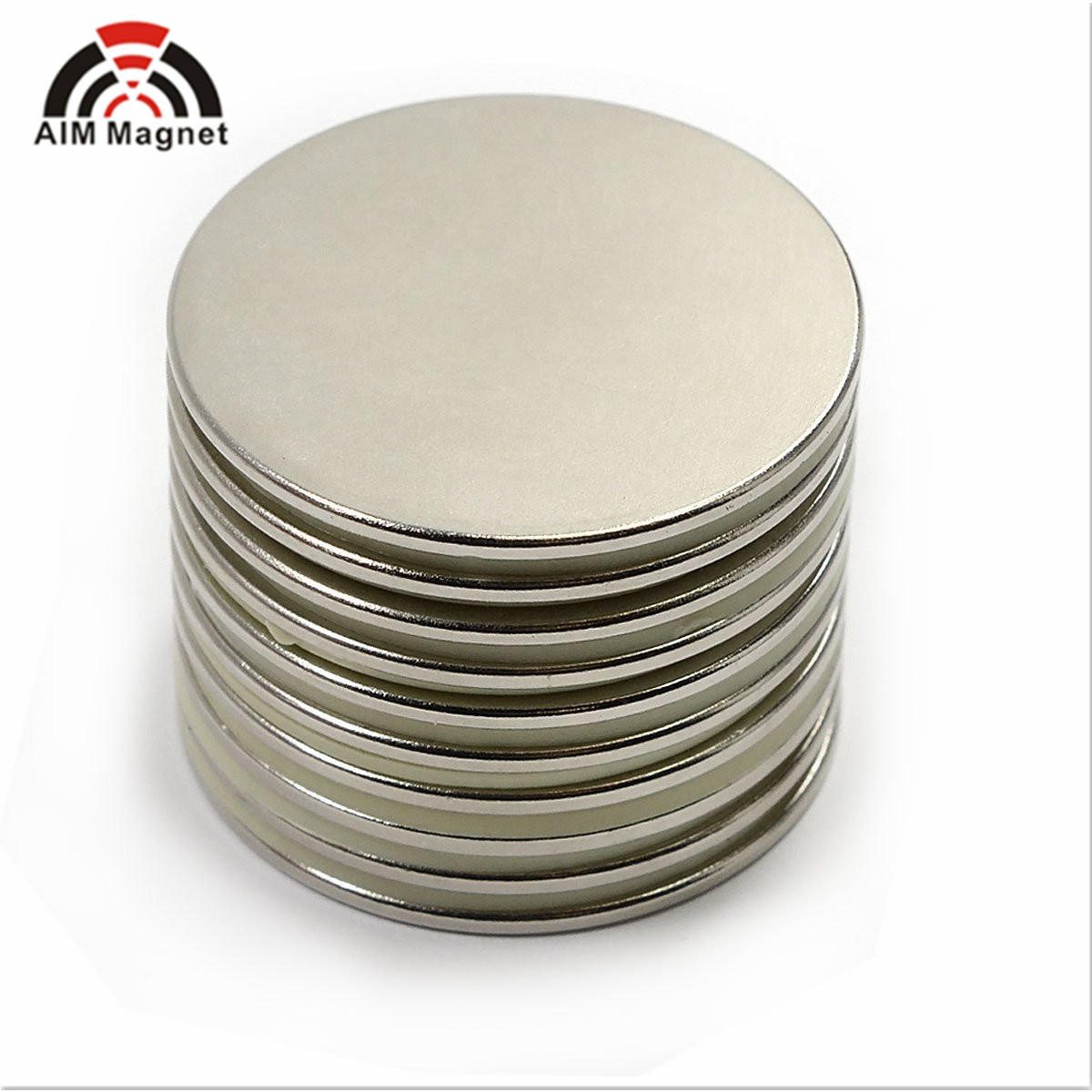 "Super Strong Neodymium Magnet N52 1.26 x 1/4"" Permanent Magnet Disc"
