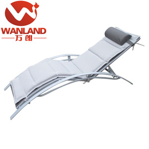 Adjustable Sling Chaise Lounge Used Outdoor & Indoor