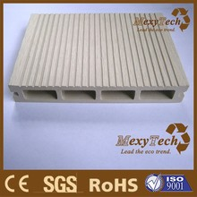 UV resistant outdoor wpc wooden plastic composites decking