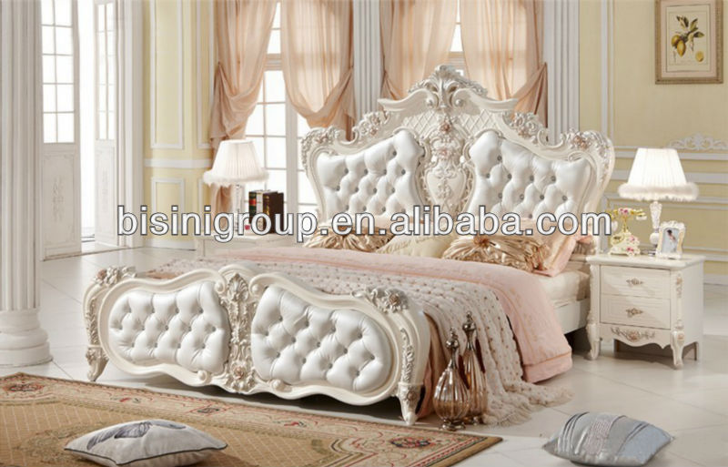 the best attitude 70dc7 69300 Royal Style Solid Wood Twin Bed In Pure White - Buy Twin Bed,Double  Bed,French Style Bed Set Product on Alibaba.com