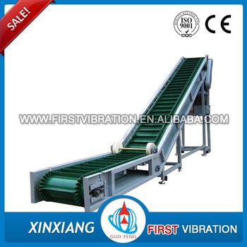 15 Years Experience Corrugated Belt Conveyor With Iso Ce