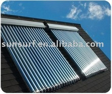 vacuum tube Solar Collector heat pipe in it