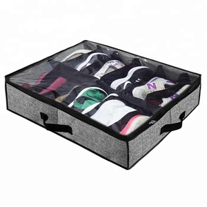 Under bed chest shoe organizer bag for kids and adults