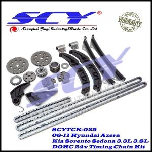 Timing Chain Kit Fits 06-11 for Hyundai Azera Kia Sorento Sedona 3 3L 3 8L