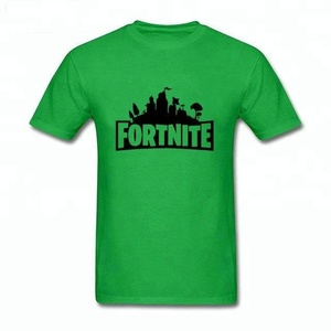 High quality fortnite t shirt supplier factory 2018 new design hot sale cotton printed fortnite t shirt tshirt t-shirt