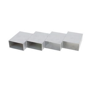 weight of aluminium hollow tube section aluminium square tube sizes