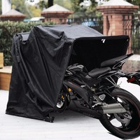 "Heavy Duty Motorcycle Shelter Shed Cover Storage Garage Tent waterproof 106.5""X41.5""X61"" Motorbike bike home"