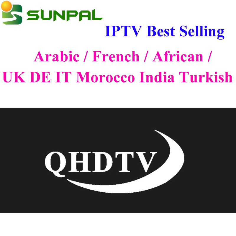 Alibaba.com / Stable IPTV Server QHDTV Subscription 1 Year Code Arabic French IPTV 12month Reseller Panel QHDTV Abonnement with Free Test