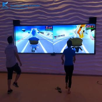 Kinect run game,AR running game reference the most popular mobile run  game,wholesales Kinect game, View Indoor interactive Amusement Park,  kleader