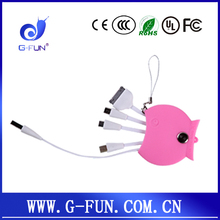 G-FUN promotional gift de pescado cable usb