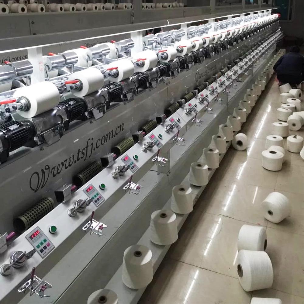 Soft yarn cone rewinding winding machine winder