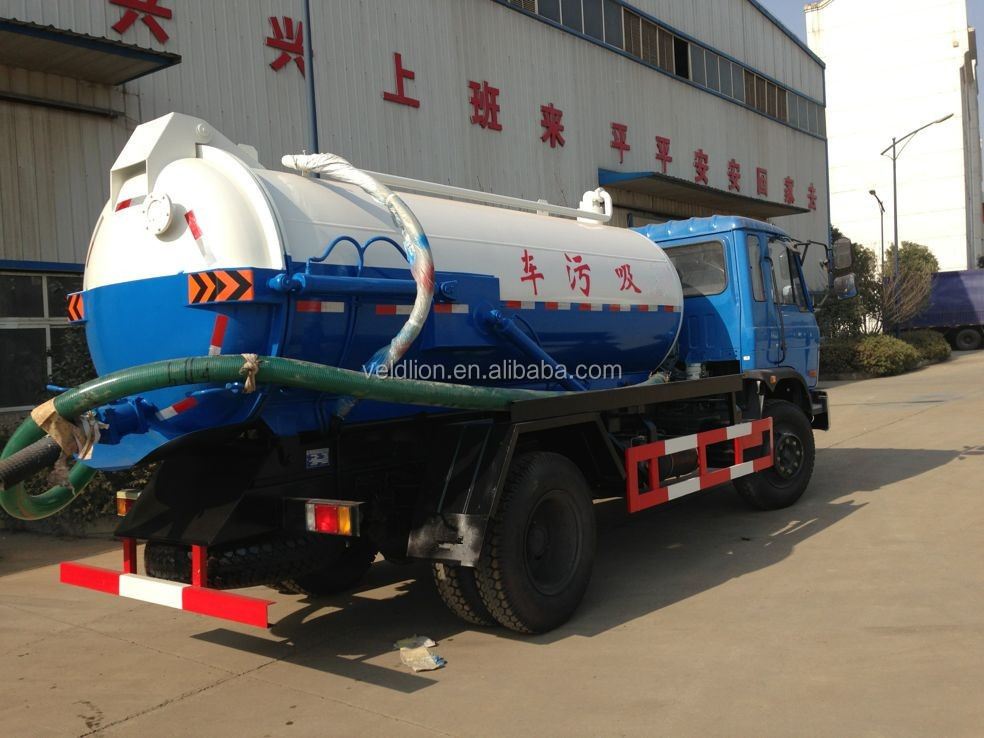 Hot sale Dongfeng 10000L vaccum suction truck ,sewage suction truck